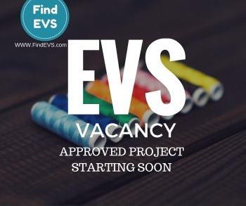 Approved EVS project starting soon 2