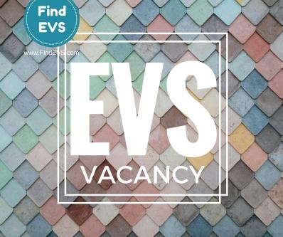 EVS Vacancy Find EVS 2