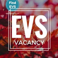 EVS vacancy Find EVS 8